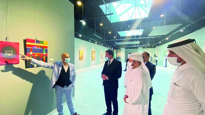افتتاح معرض دمشق درة الشرق في كتارا