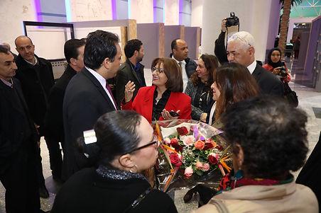 افتتاح معرض نوادي الفنون التشكيلية بدور الثقافة في تونس