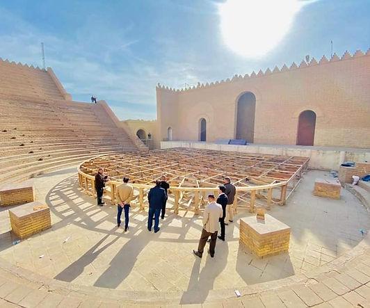 بغداد تعيد تأهيل المسرح البابلي