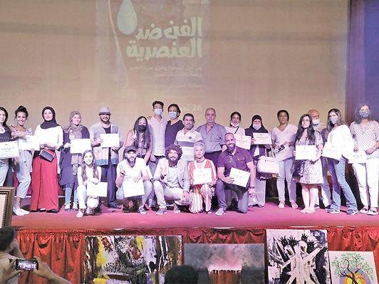 افتتاح مهرجان صور الدولي للفنون التشكيلية بدورته الأولى
