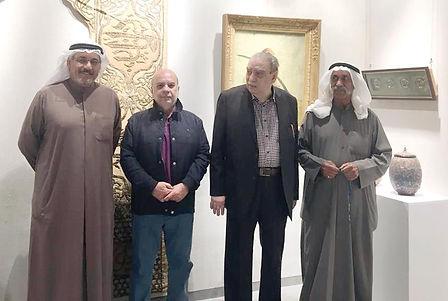قاعة «بوشهري»... فتحت صفحة التراث بـ «أعمال فنية مختارة»