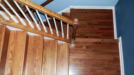 Wrap Around Stairs