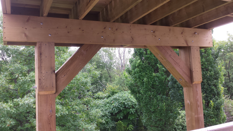Solid Wood Post and Beam Construction