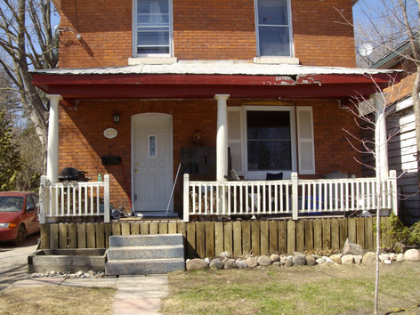 Porch Structural Repair