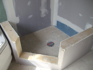 Bathroom Drywall
