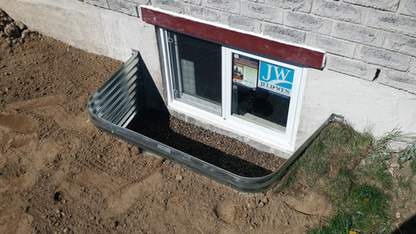 Basement Window Box