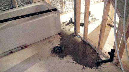 Basement Plumbing for Bathrooms