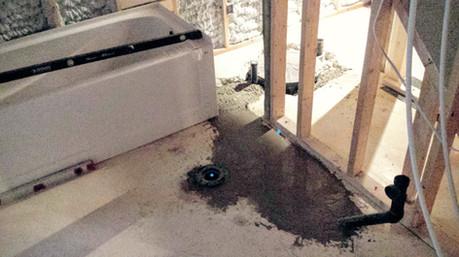 Basement Bathroom Basement Plumbing