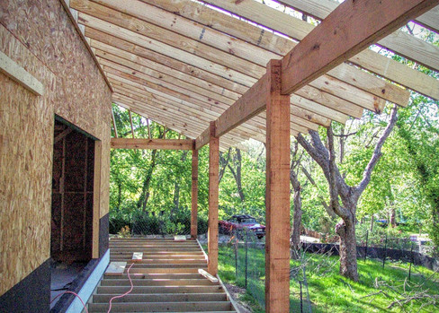 Porch Overhangs