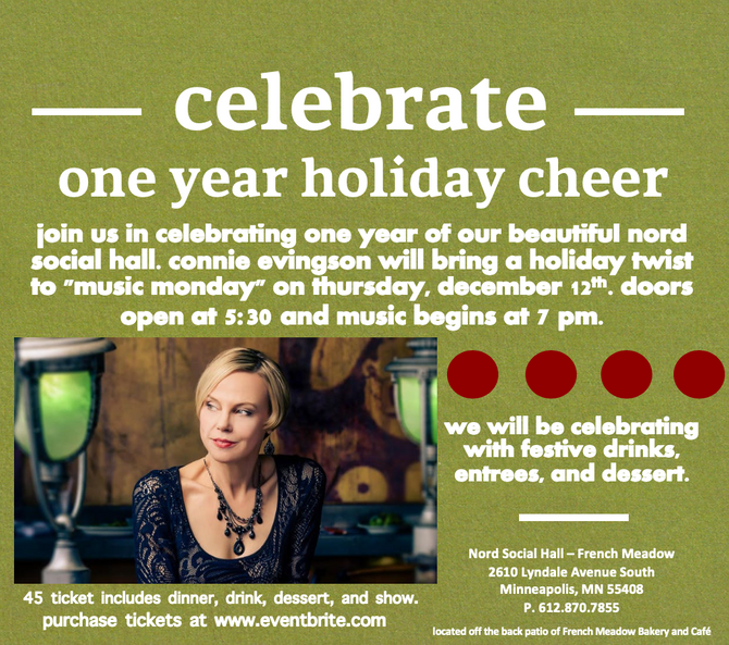 """One Year Holiday Cheer"": Join Us on December 12 to Celebrate the First Year of Nord Socia"