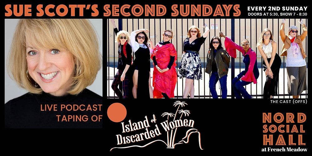 Sue Scott's Island of Discarded Women podcast at Nord Social