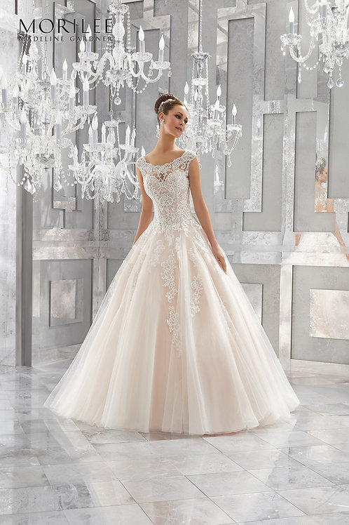 Mori Lee 5573 Massima BLUSH