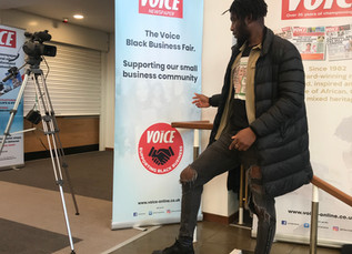 The Voice Black Business Fair