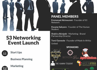 S3 Networking Event