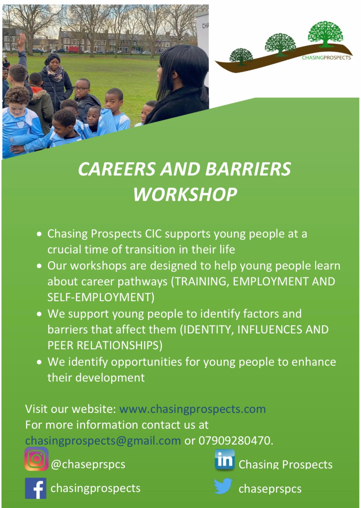Careers and Barriers Workshop