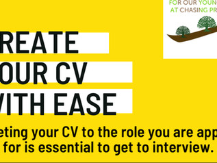Download our free guide on writing your CV