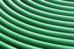 Grüner Wasserschlauch