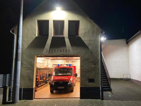 08/2020 Rauchsäule im Gelände B1