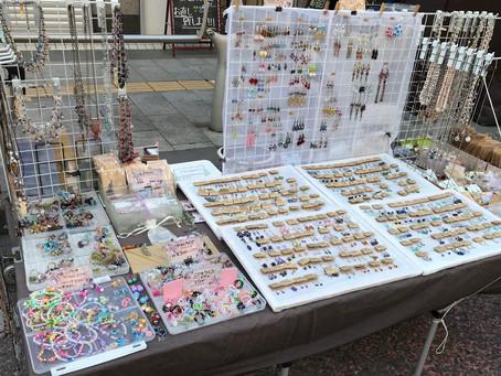東京ふれあい手作りマーケット普段使いのビーズアクセサリー
