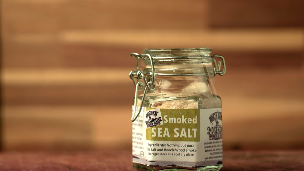 Smoked Sea Salt 100g (jar)