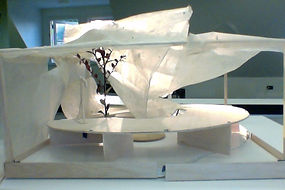 A model for a mobile outdoor theatre (2002,Unversity of British Columbia,Studio work