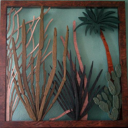 Cactus Garden Screen