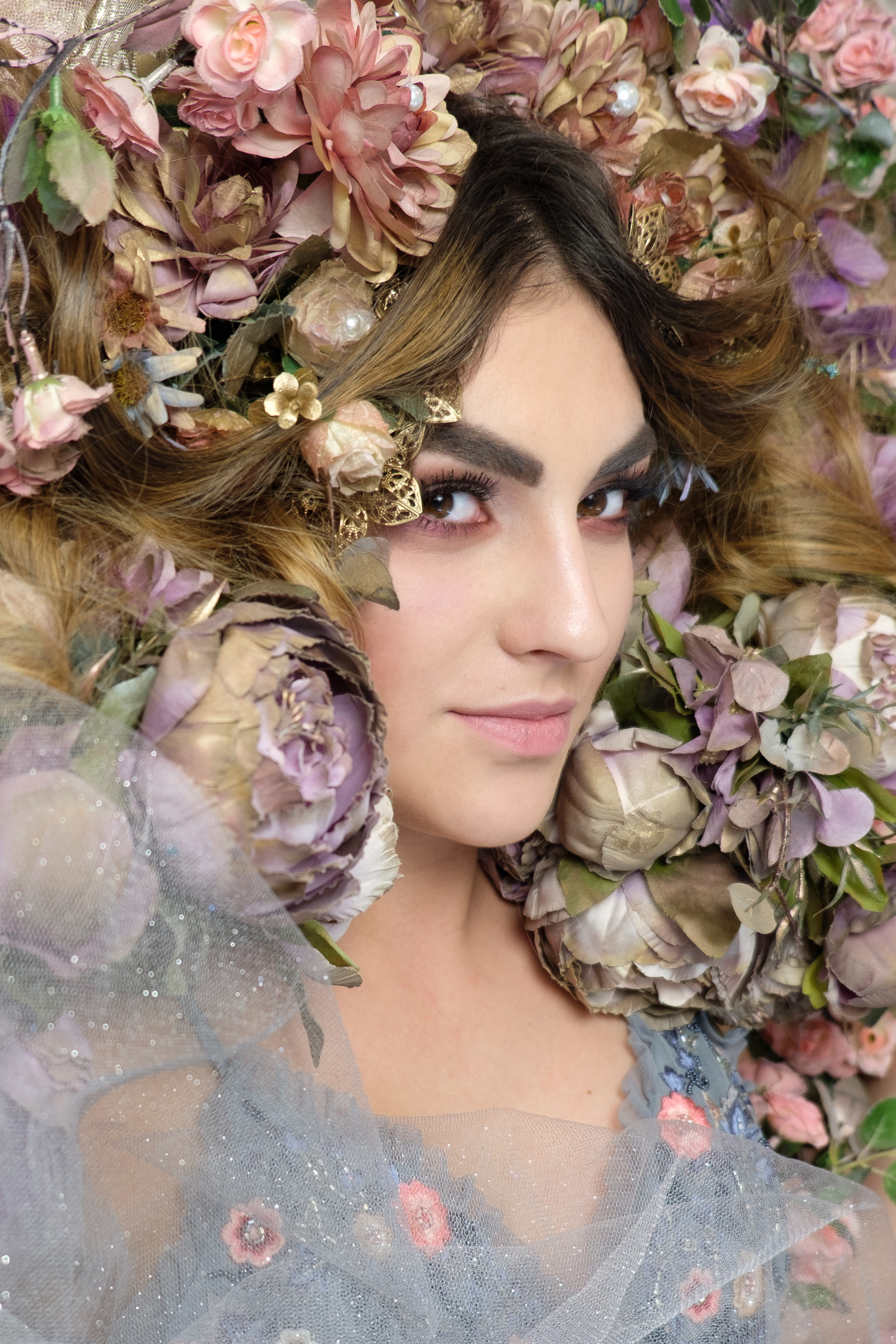 Porträt Dornröschen - Blüten mit Tüll-9.