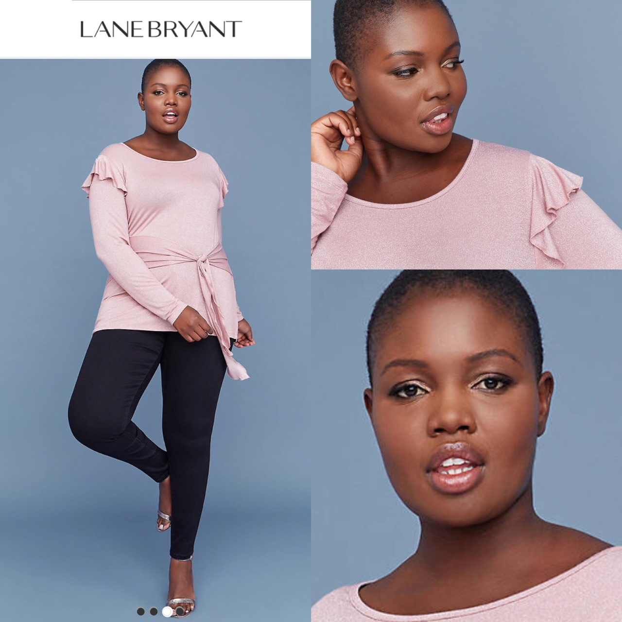 Makeup for Lane Bryant