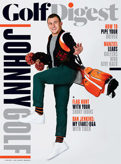 Makeup/Grooming for Johnny Manziel