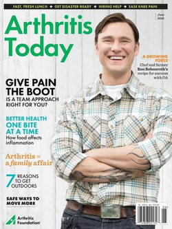 Grooming for Arthritus Today cover