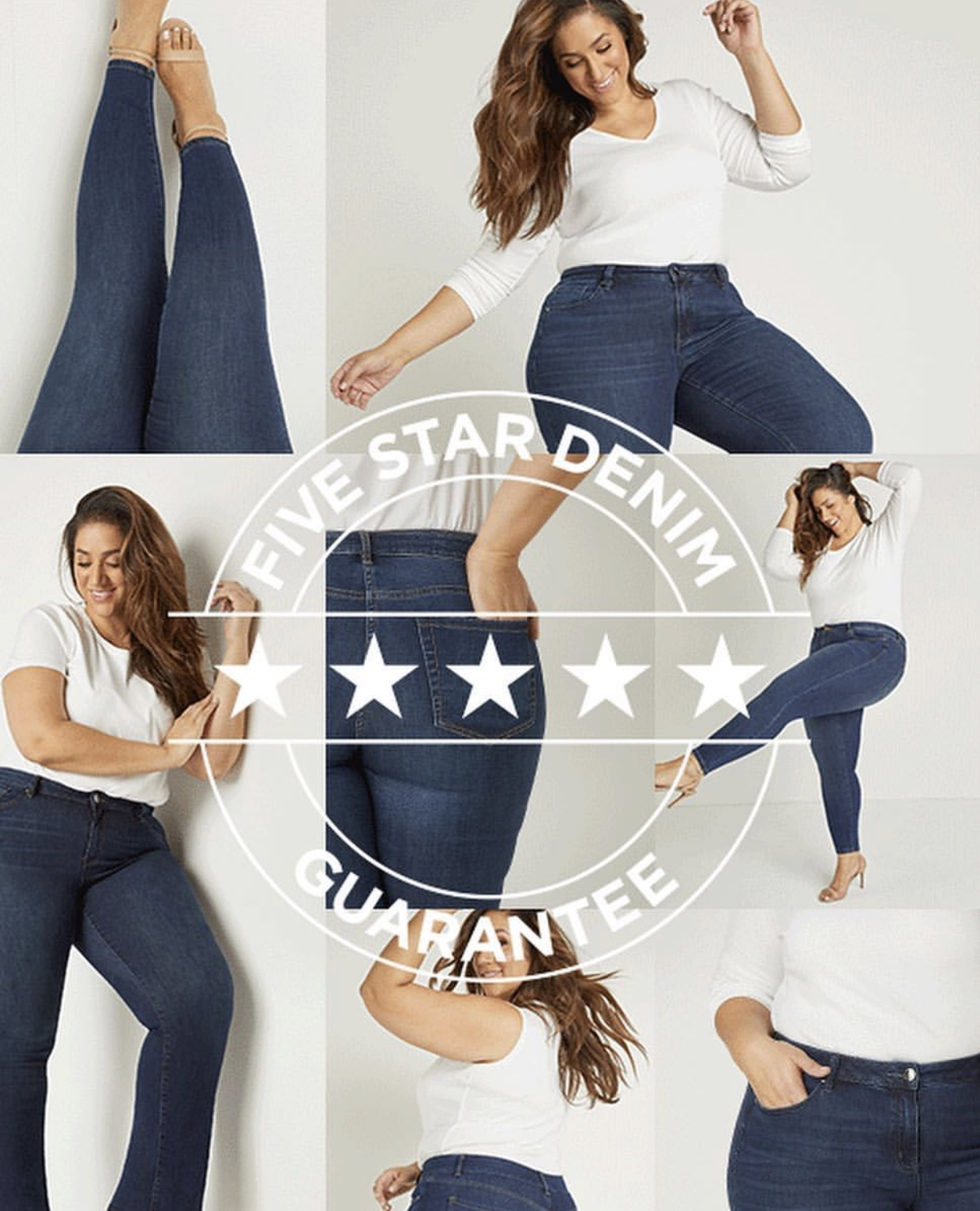 Lane Bryant Denim Campaign