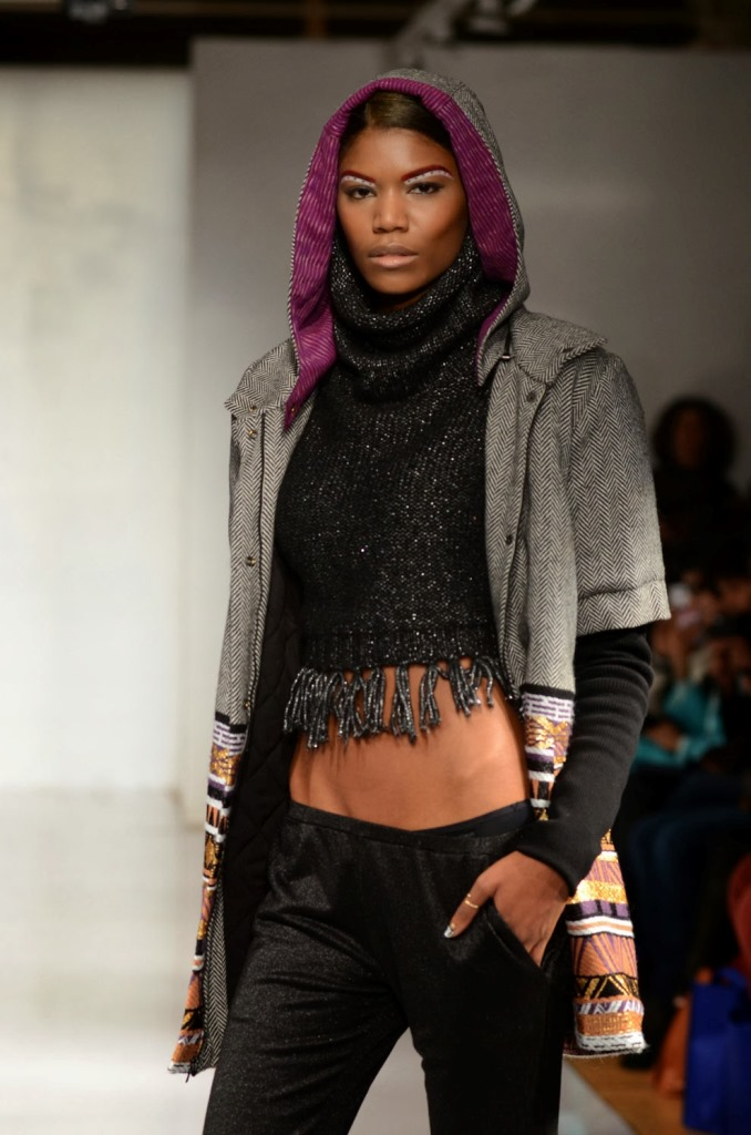 Key Artist for Abacaxi, NYFW 2014