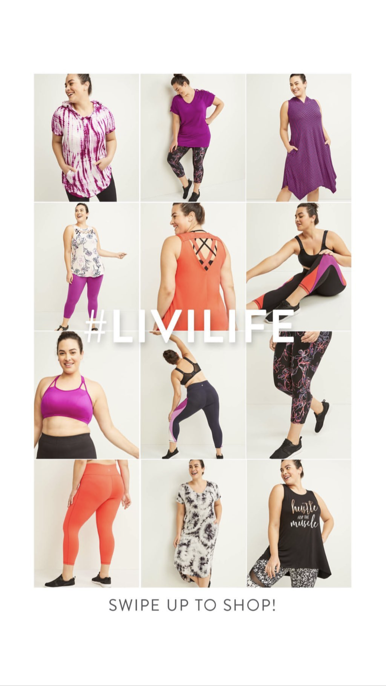 Makeup for Lane Bryant Livi Active