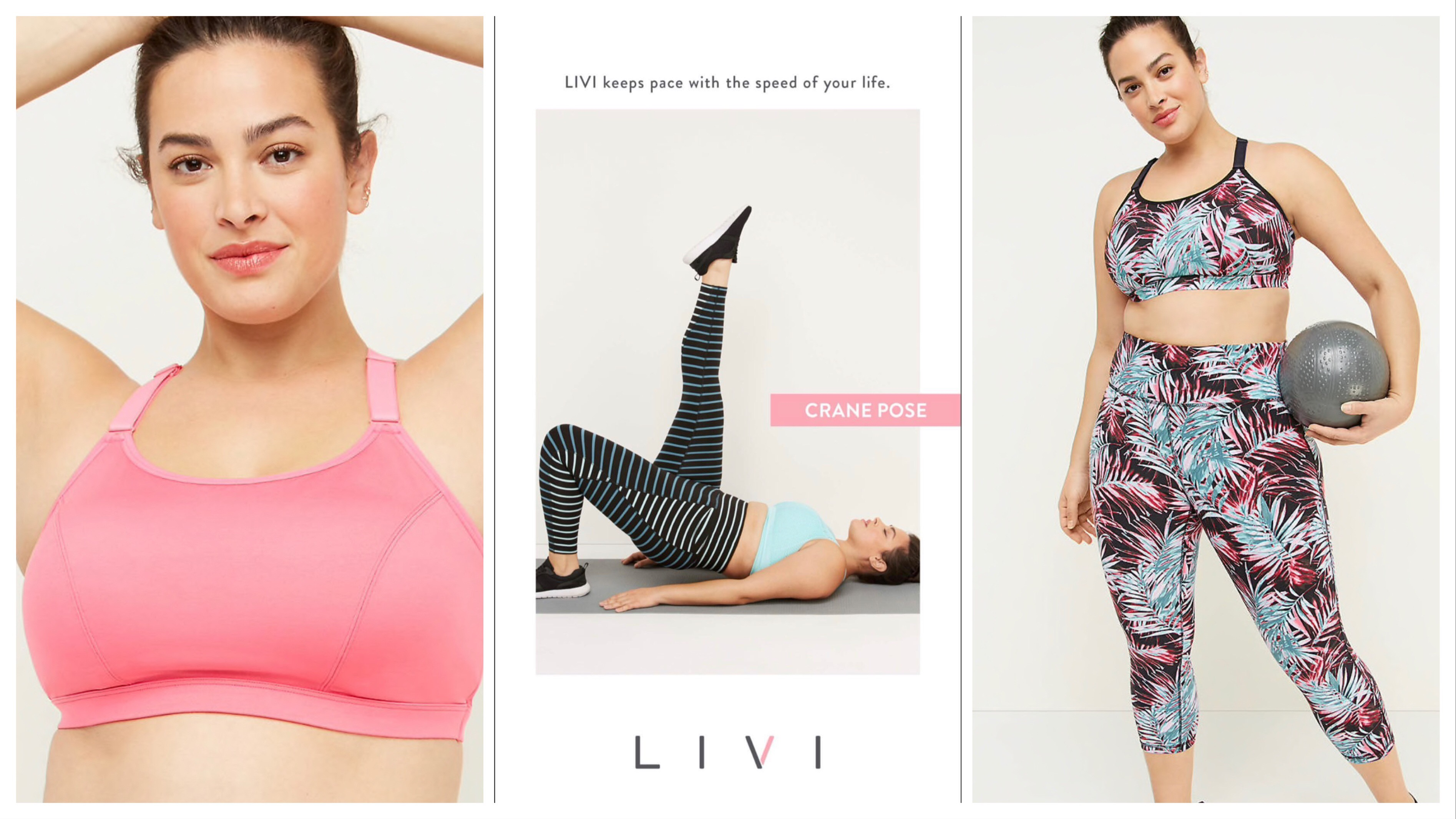 Makeup for Livi Active/Lane Bryant