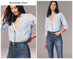 Makeup/Hair for Abercrombie & Fitch