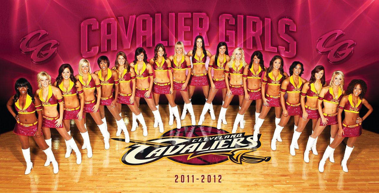 Makeup for Cleveland Cavalier Girls