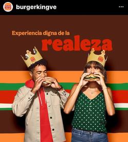 Makeup/Hair/Grooming for Burger King International Campaign
