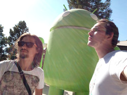 Android Sculptures park