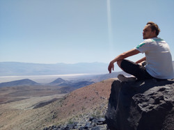View to the deserts of Nevada