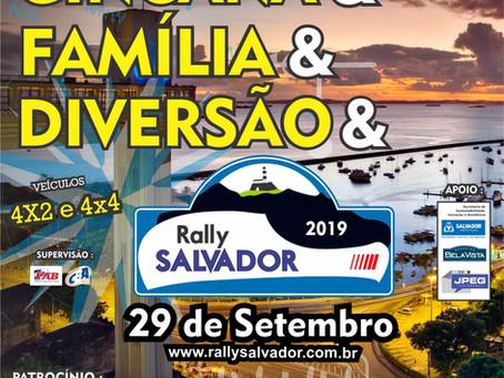 RALLY SALVADOR - UMA GINCANA PARA TODA A FAMÍLIA