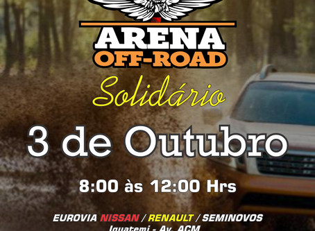 ARENA OFF ROAD 2020 SOLIDÁRIO