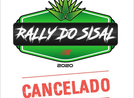 RALLY DO SISAL 2020 CANCELADO