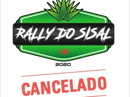 RALLY DO SISAL 2020 CANCELADO