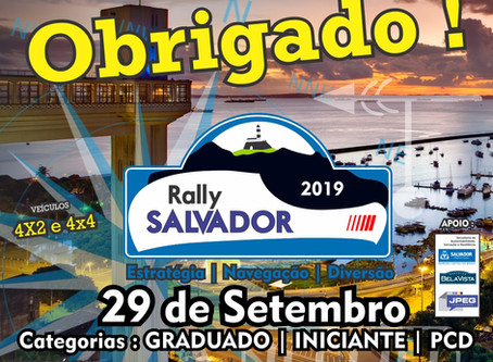 RALLY SALVADOR COROADO DE ÊXITO.