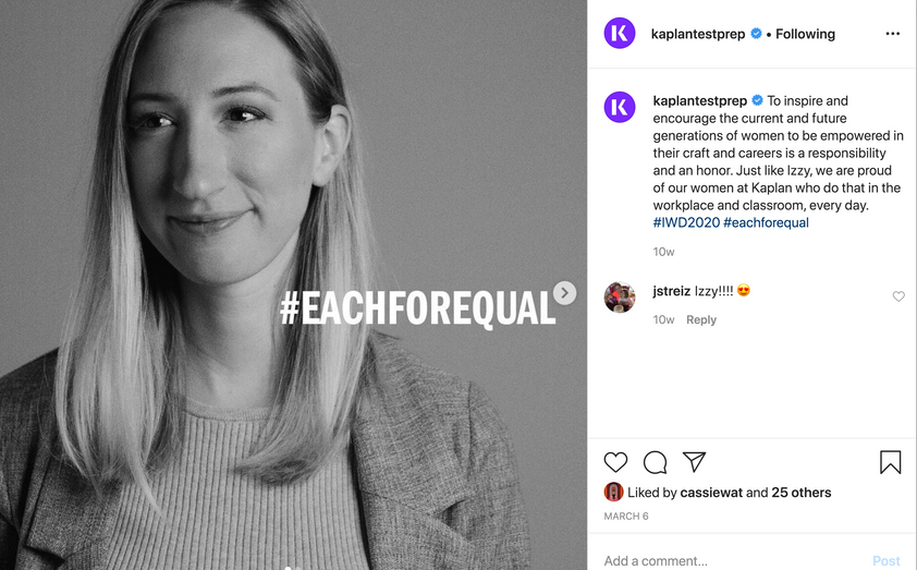 #eachforequal Campaign