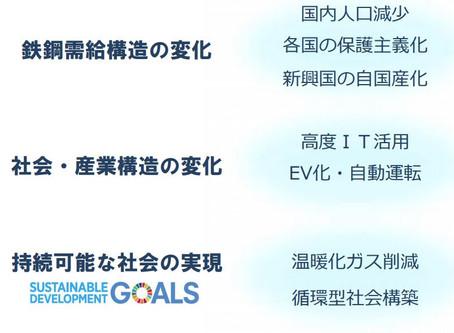 日本製鉄による経営計画と鉄の素材を活かしたSDGsへの達成への貢献