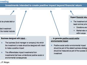 ソーシャルインベストメントの世界の動き〜インパクト投資とは?〜