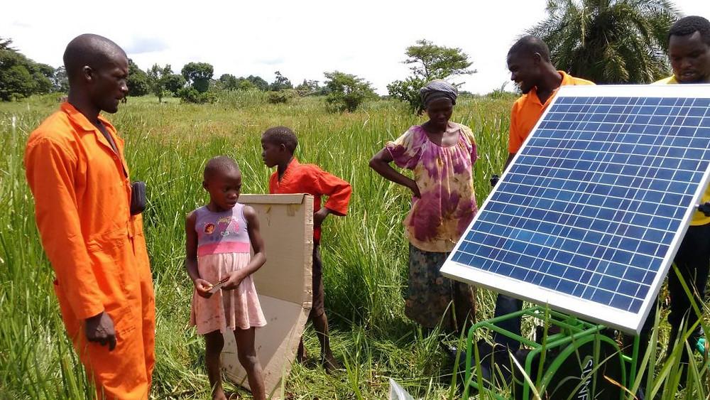 発展途上国 ソーラーパネル