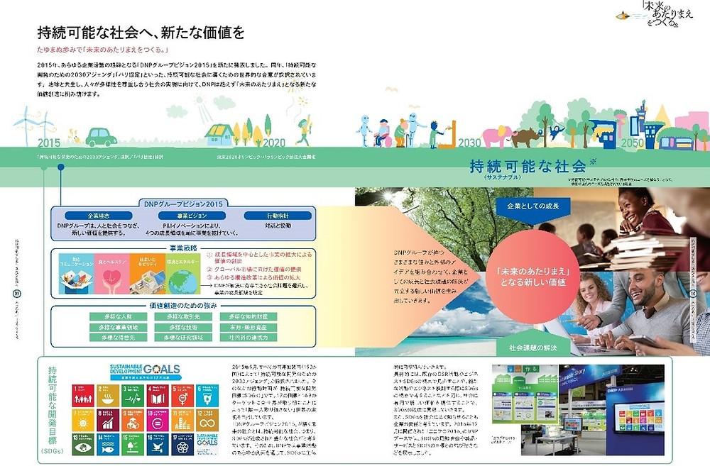 大日本印刷 SDGs