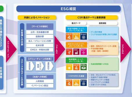 NTTデータによる経営戦略とSDGsの達成に向けた方針